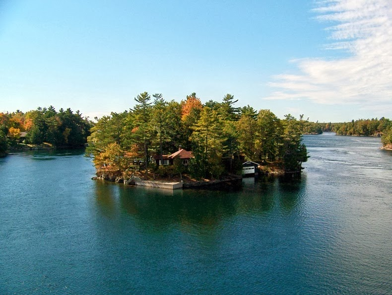 There Is A Small Cluster Of Over 1,000 Tiny Islands Where Residents Get Their Own Private Island