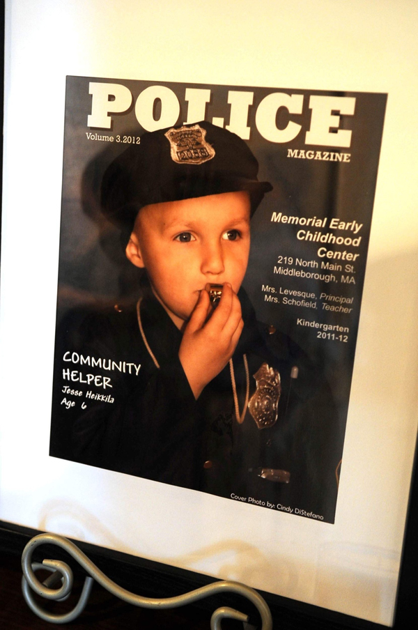 Police Give Superhero Farewell At The Funeral Of 7-Year-Old Boy