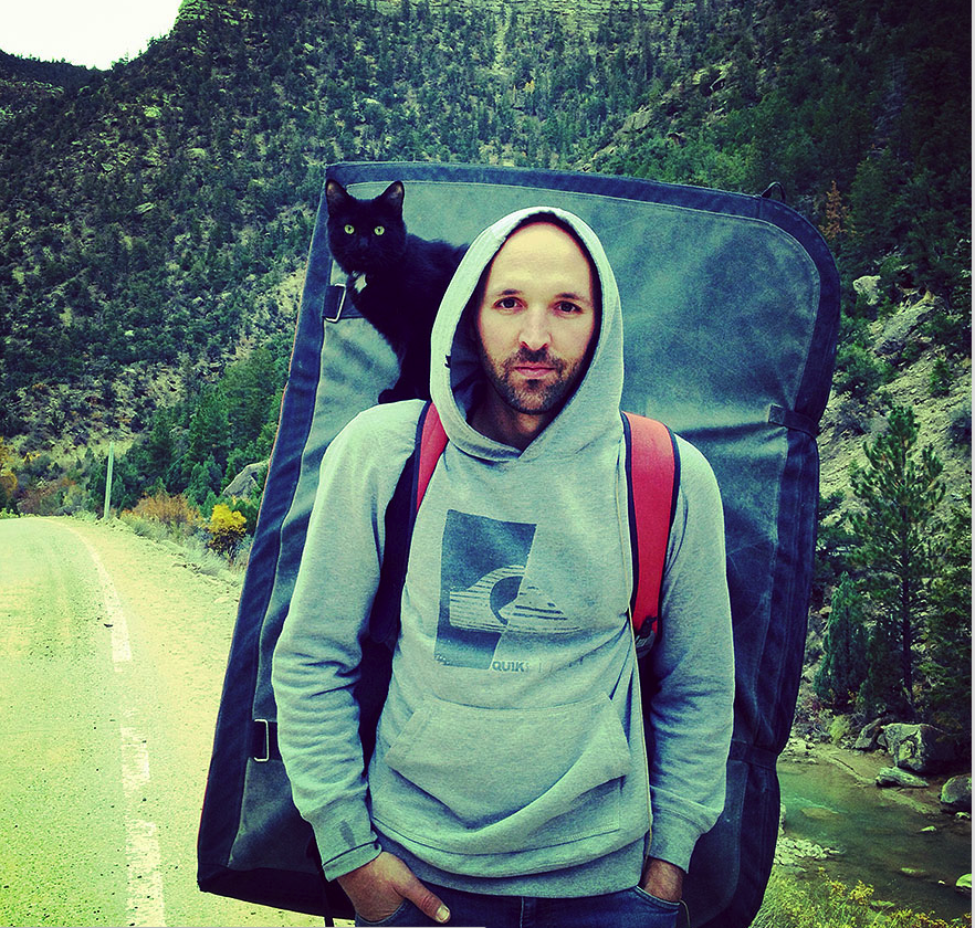 Meet Millie, The Adventure Cat Who Goes Camping and Rock Climbing With Her Human