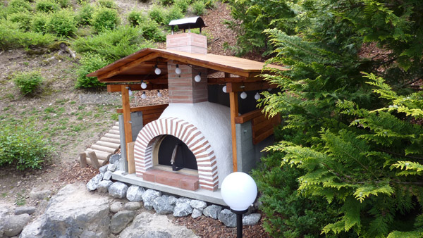 My Son And I Spent 9 Months Building A Homemade Pizza Oven For My Backyard And It Turned Out Great