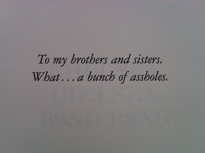 27 Times Writers Took Book Dedications To A Whole New Level