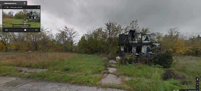 The Downfall Of Detroit Over 10 Years On Google Maps