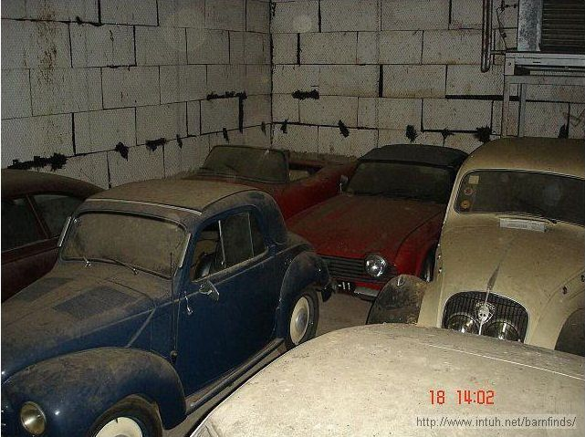 180 Classic Cars Found In An Abandoned Warehouse After 30 Years Of Neglect Are Worth Millions