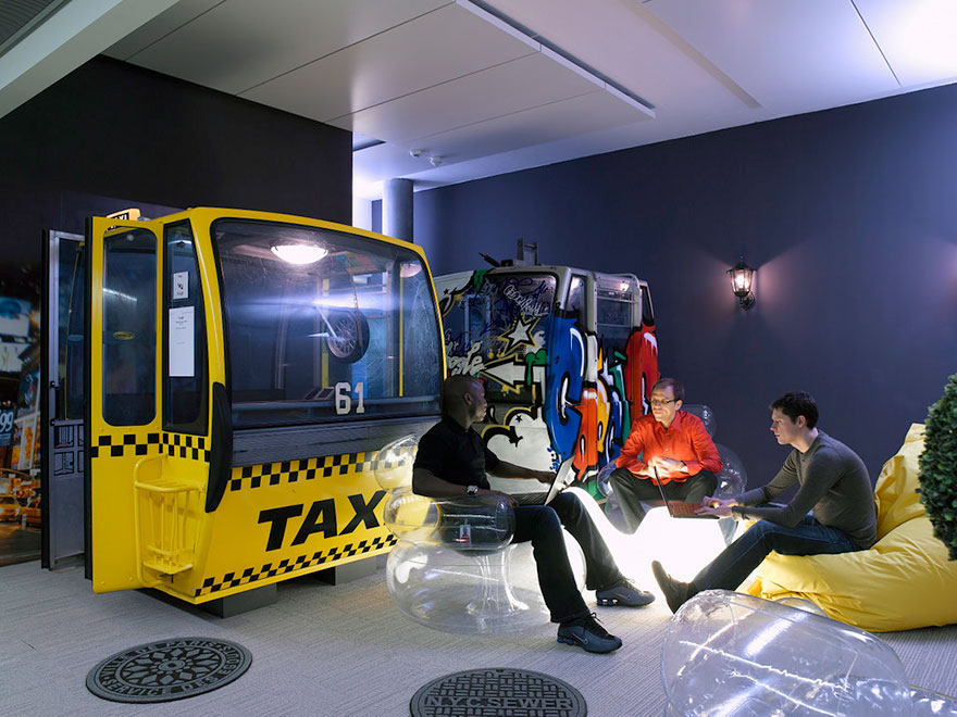 12 Of The Coolest Offices In The World