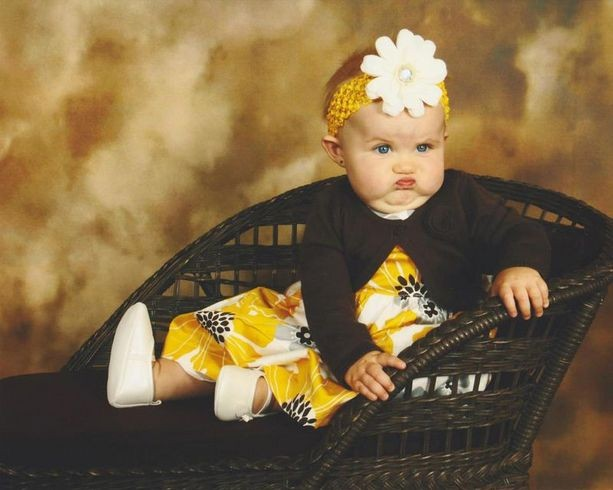 29 Angry Babies Who Clearly Hate Photoshoots