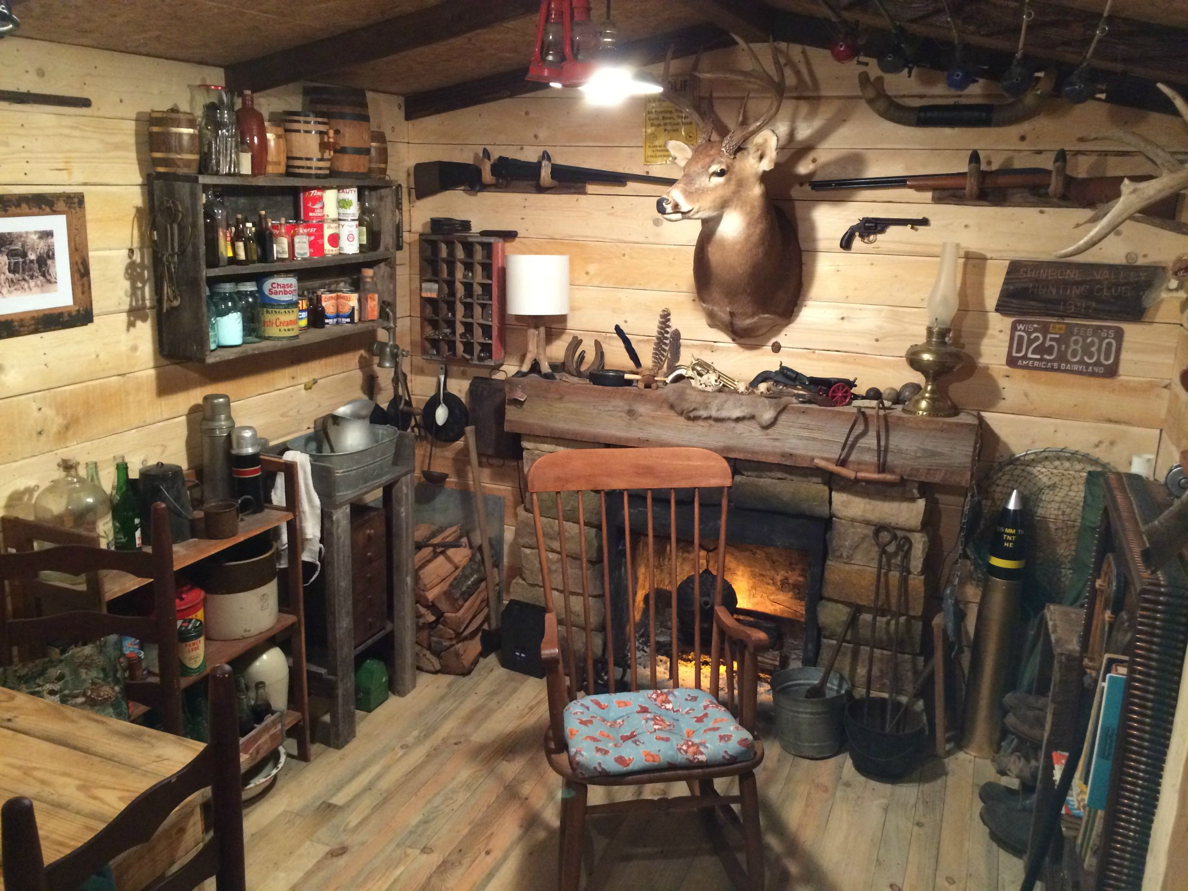 Someone Built The Coolest Man Cave For Only $107