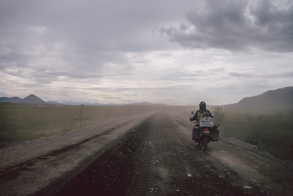After A Divorce And Losing His Job, A Man Drove His Motorcycle 5,000 Miles Into The Arctic Until The Road Ended