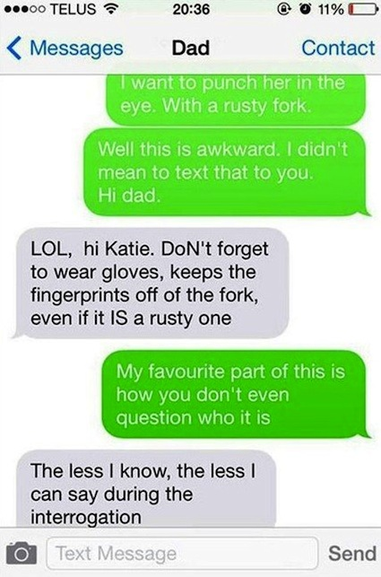 28 Times Parents Schooled Their Kids At Texting