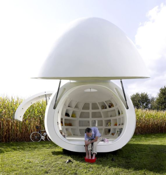 Tiny Wind And Solar Powered Egg-Shaped Home Lets You Live Off The Grid Anywhere In The World