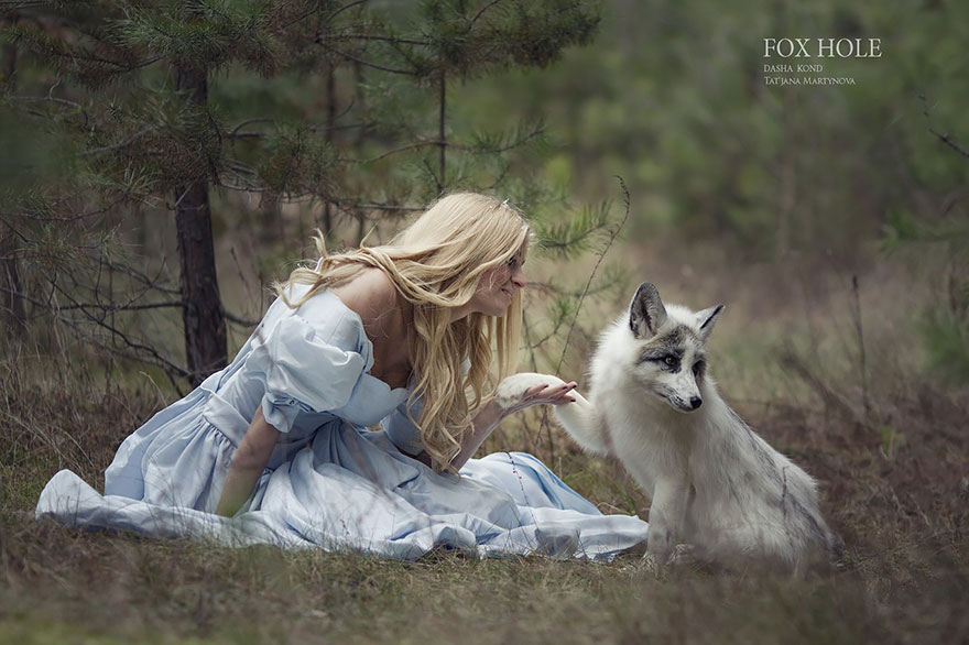 Photographer Captures Fairy-Tale Scenes With REAL Animals