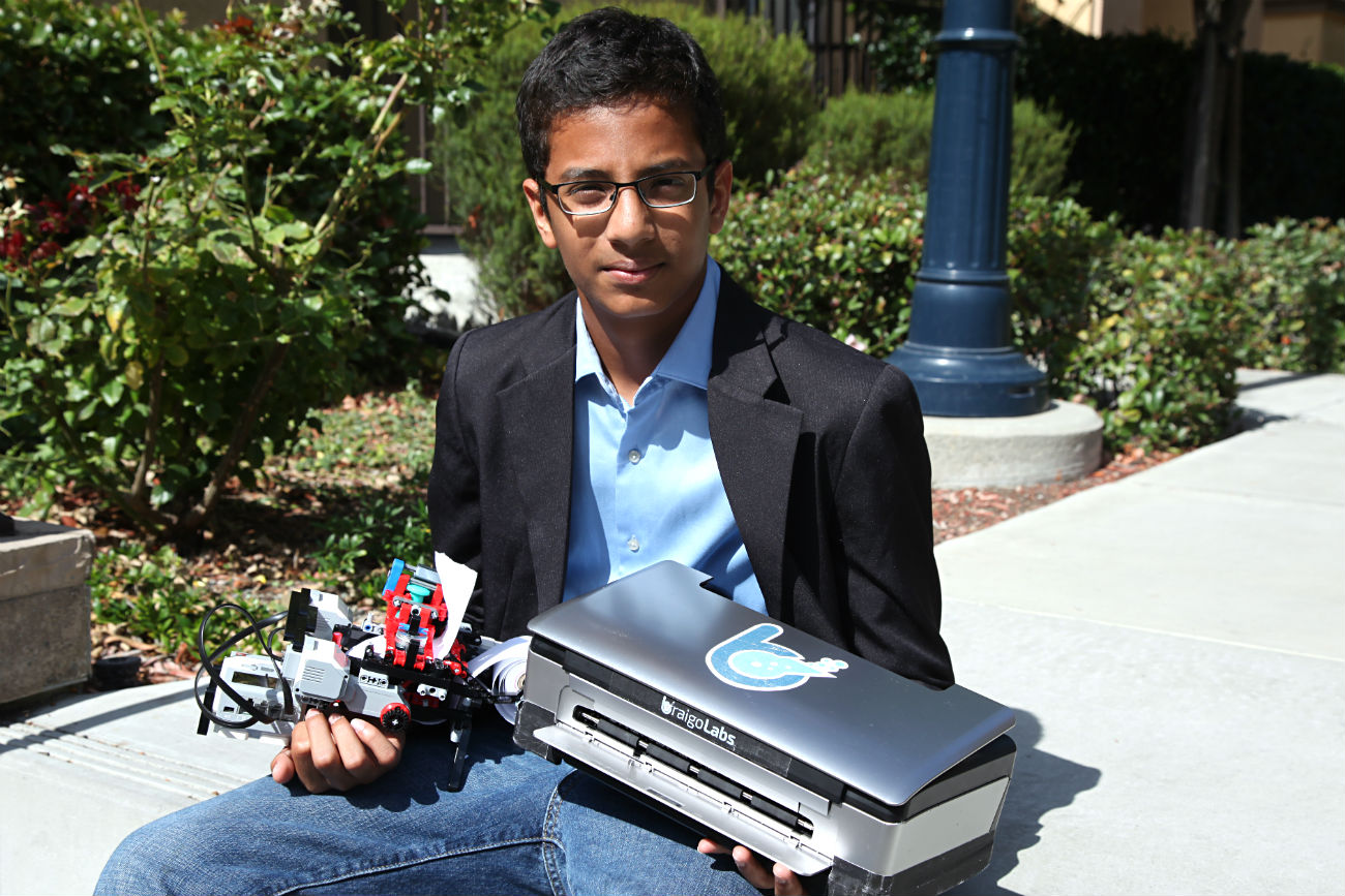 13-Year-Old Becomes Millionaire After Designing Braille Printer From Legos
