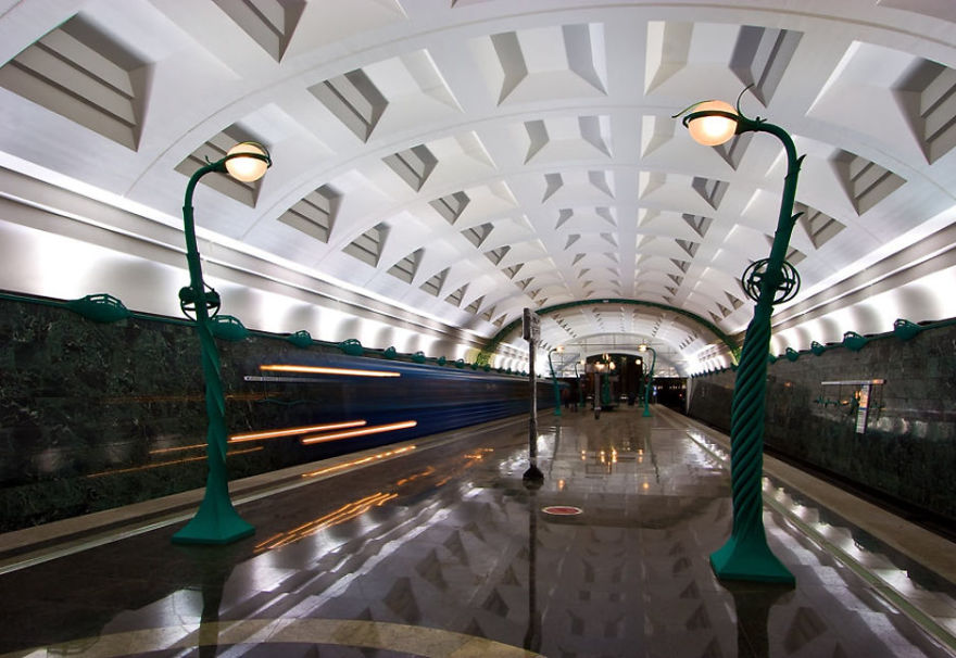 16 Of The Most Beautiful Underground Metro Stations In The World