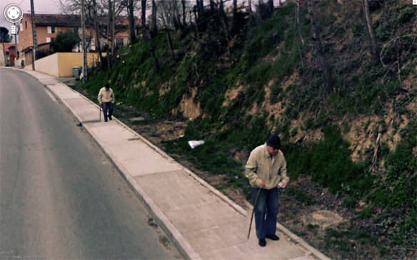 24 Of The Strangest And Most Bizarre Things Ever Caught On Google Street View