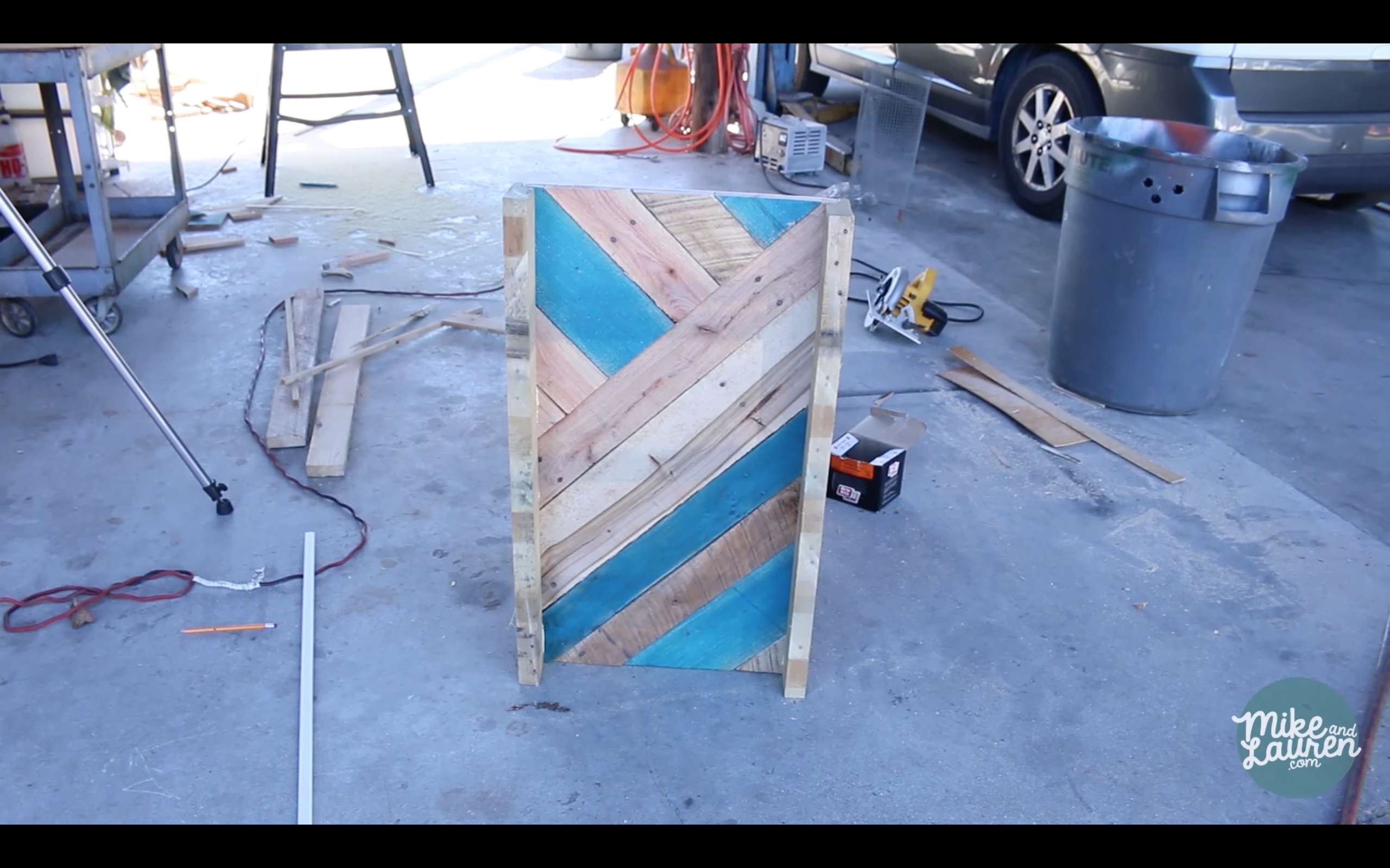 I Transformed An Old Pallet Into A Beautiful Jewelry Cabinet