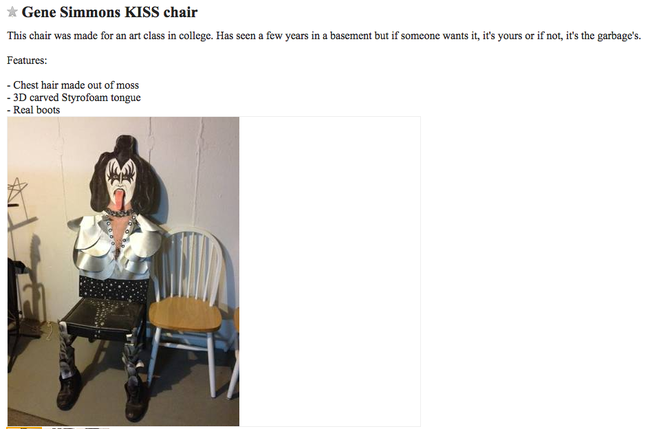 22 Of The Strangest, Most Disturbing Things Ever Found On Craigslist