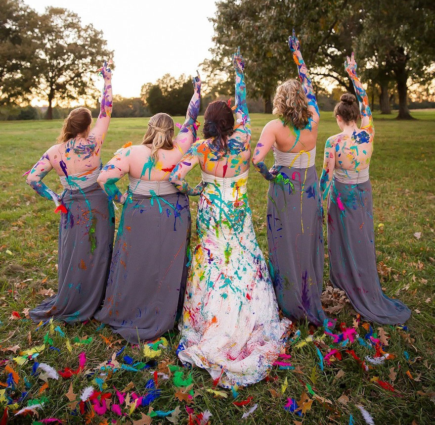 Bride Takes The World's Best Photo Shoot After Being Left At The Altar By Her Fiancé