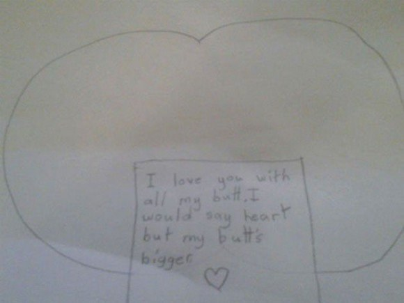 17 Hilariously Honest Love Notes From Kids