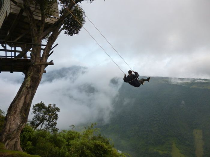 The Swing At The End Of The World Lets You Swing 8,350 Feet In The Air