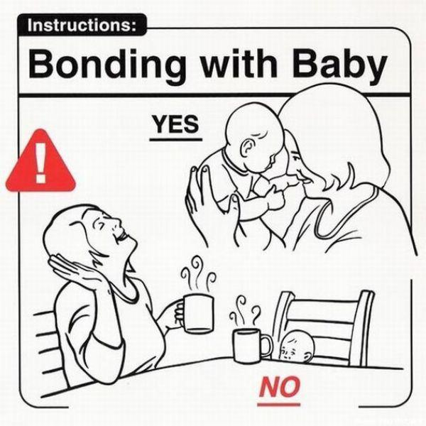27 Hilarious Baby Handling Tips For New Parents