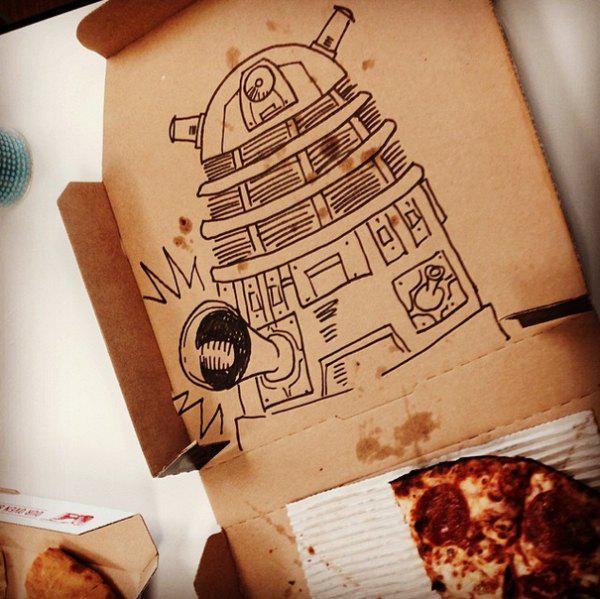30 Times Pizza Deliveries Absolutely Nailed Drawing Requests