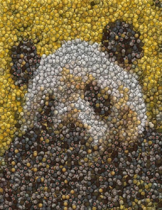 Artists Use Spare Change To Make Amazing Coin Art