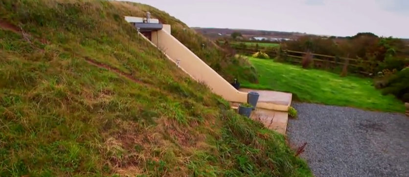 WWII Bunker Transformed Into a Beautiful Home