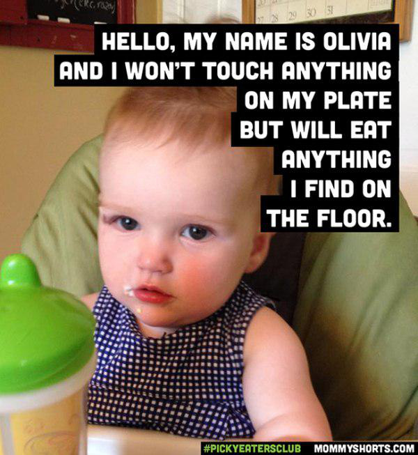 21 Exasperated Parents Share Their Kids Hilarious Eating Habits