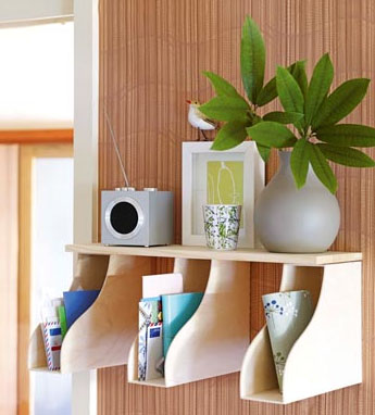 19 Clever Ways To Organize Using Only Magazine Holders