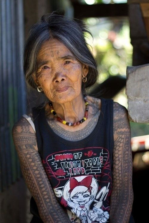 25 Tattooed Seniors Finally Answer The Age-Old Question: How Will Your Tattoos Look When You're Old?