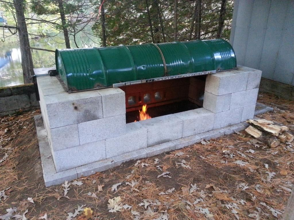 Instructions For A Huge DIY Rotisserie BBQ Pit For CHEAP