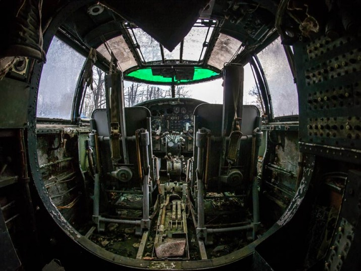 Man Finds The Sad Remains Of WW2 Planes Rotting In Abandoned Plane Graveyard