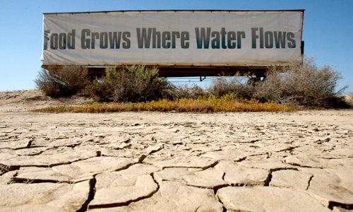 13 Frightening Photos Of The California Drought