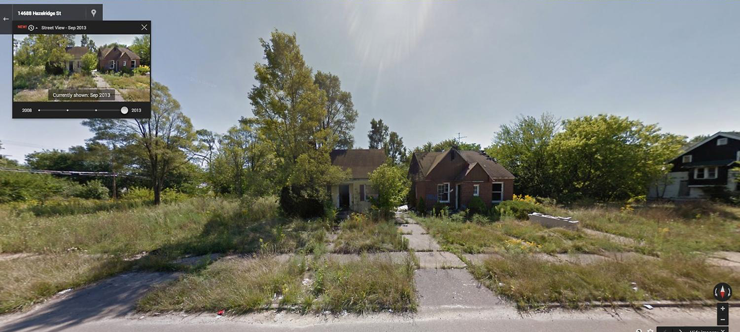 These Before And After Pictures Show Detroit's Decline