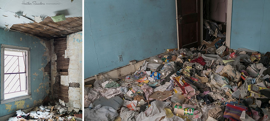 Lady Buys Abandoned House In Detroit For $500 And Brings It Back To Life With 4,000 Flowers