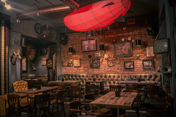 Step Inside The First Steampunk Bar In Romania And You Might Not Ever Want To Leave
