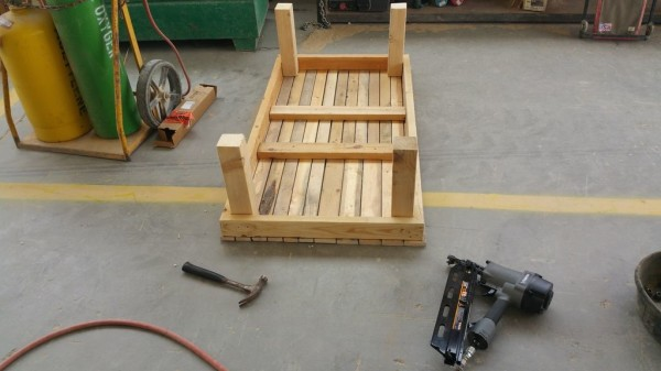 I Transformed A Wooden Pallet Into A Full Patriotic Table