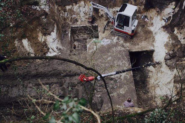 Historians Find A Maze Of Secret Nazi Tunnels In Austria