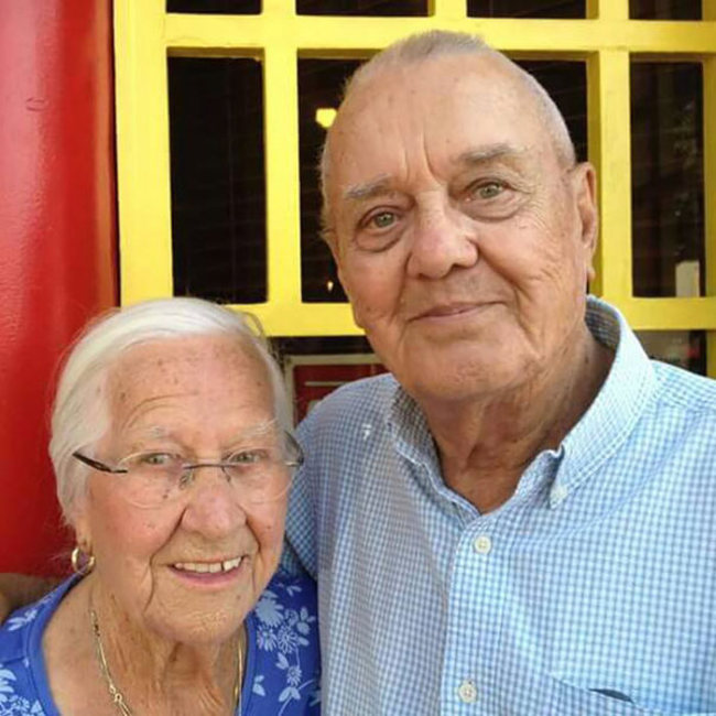 Childhood Sweethearts Die In Each Others' Arms Hours Apart After 75 Years Of Marriage