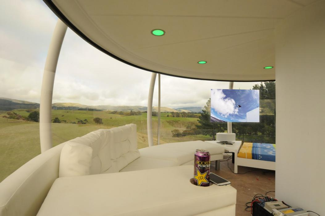 After A Few Drinks, Man Decides To Build A $50,000 Sky Dome And Does It