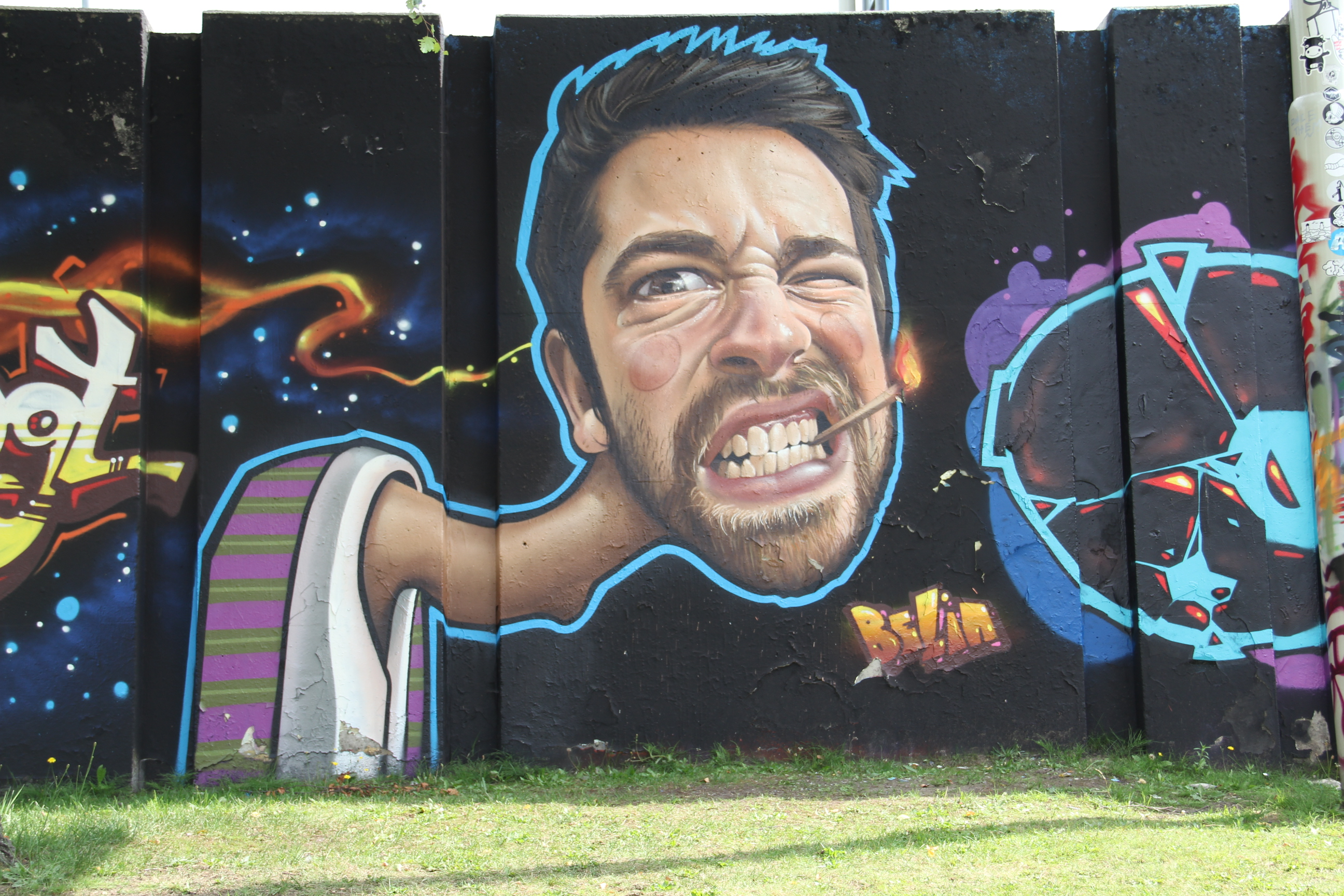 Every Year, Graffiti Artists Turns A Holland Traffic Circle Into Amazing Legal Art Murals