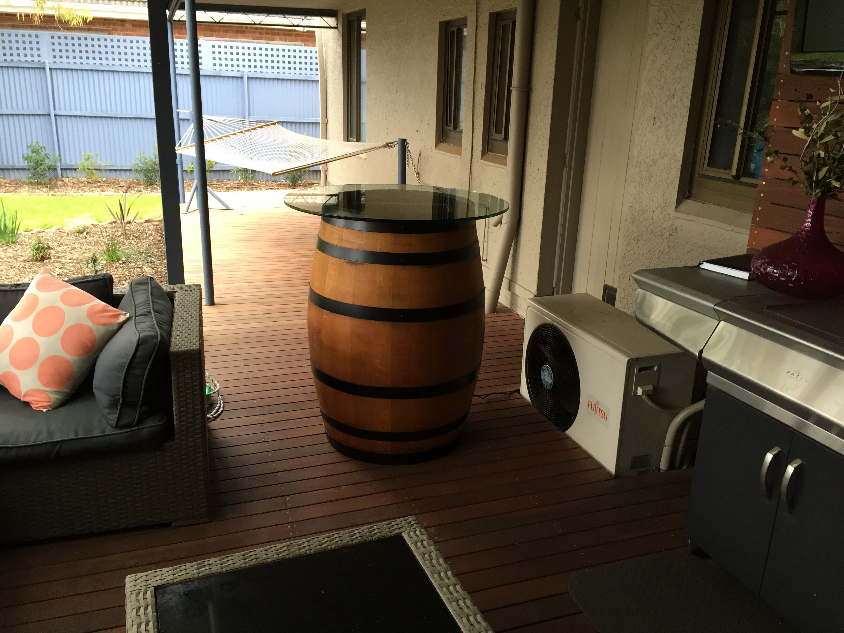 Man Turns Whiskey Barrel Into The Coolest Gaming Table Ever