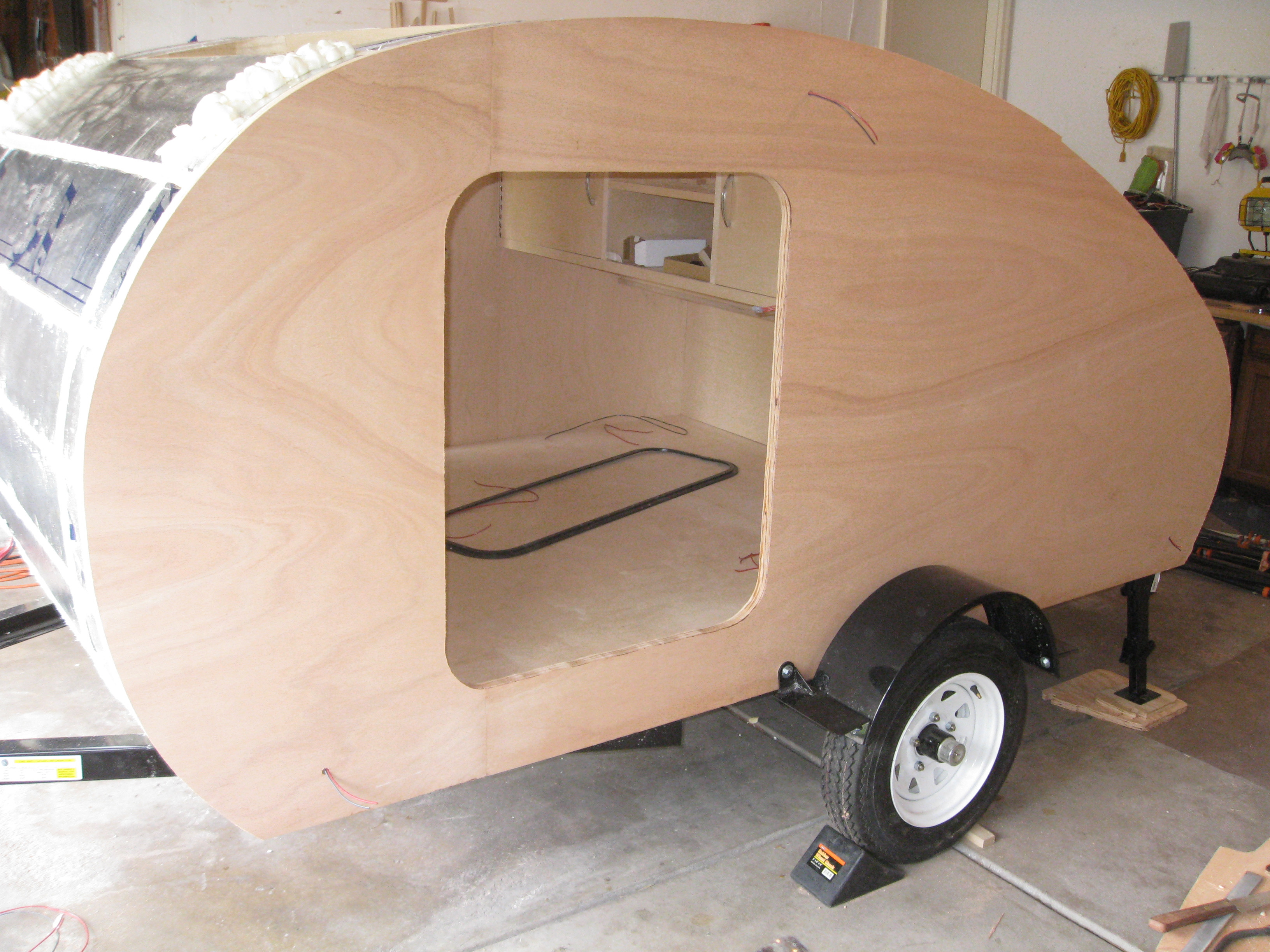 How To Build Your Own Teardrop Trailer From Scratch