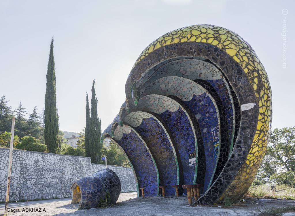 Photographer Documents The Wild Architecture And Bizarre Beauty Of Soviet Bus Stops