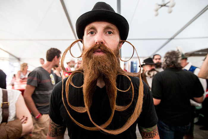 Top Photos From The 2015 Beard Competition