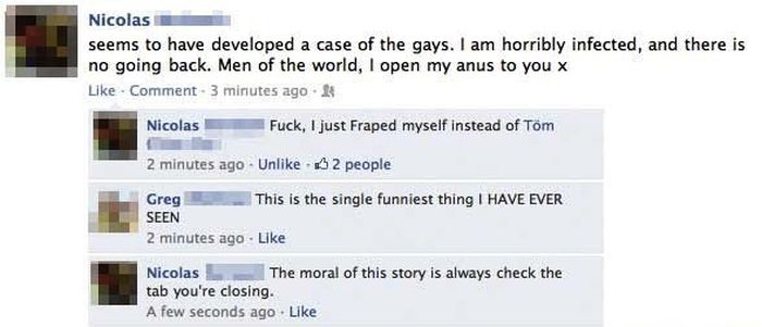 27 People Who Learned The Hard Way To Always Log Out Of Facebook