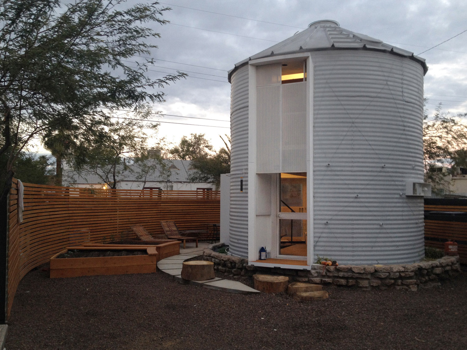 Architect Turns Old Grain Silo Into His Home, And The Interior Is Amazing