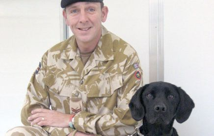 Soldier Uses His Military Dog's Ashes To Create A Timeless Memorial Tattoo