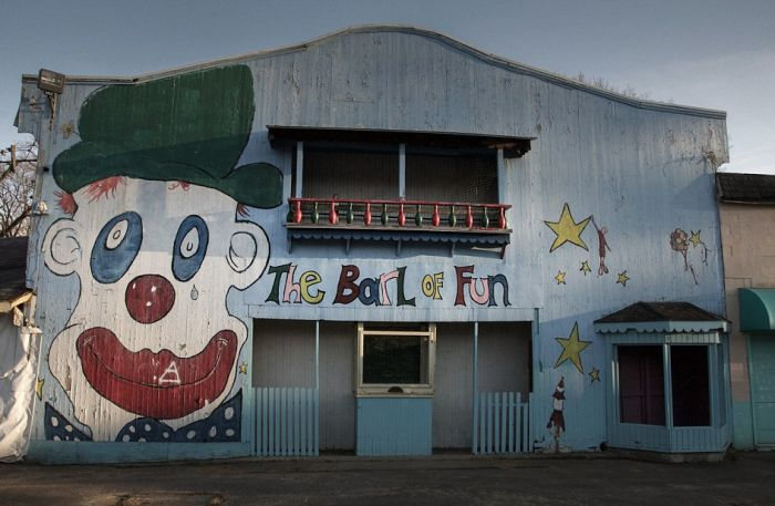 This 100-Year-Old Abandoned Funhouse Looks Straight Out Of A Horror Film