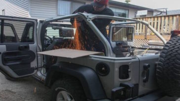 Man Converts His Jeep Into The Ultimate Adventure Rig