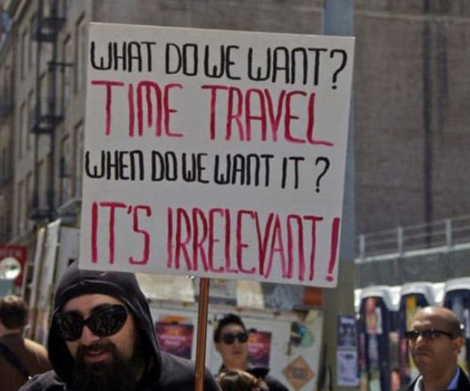 17 Of The Funniest Protest Signs Ever